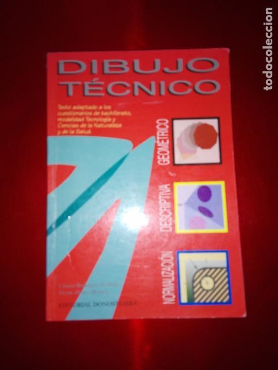 LIBRO-DIBUJO TÉCNICO.EDITORIAL DONOSTIARRA-F.JAVIER RODRIGUEZ DE ABAJO-1995-BUEN ESTADO-VER FOTOS (Libros Antiguos, Raros y Curiosos - Ciencias, Manuales y Oficios - Otros)