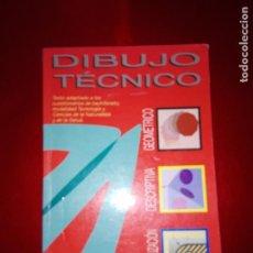 Libros antiguos: LIBRO-DIBUJO TÉCNICO.EDITORIAL DONOSTIARRA-F.JAVIER RODRIGUEZ DE ABAJO-1995-BUEN ESTADO-VER FOTOS. Lote 142470046
