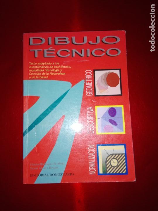 Libros antiguos: libro-dibujo técnico.editorial donostiarra-f.javier rodriguez de abajo-1995-buen estado-ver fotos - Foto 2 - 142470046