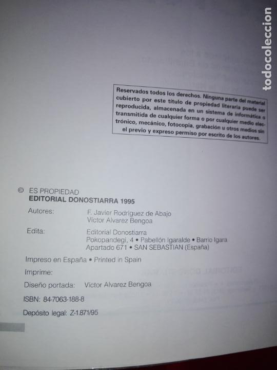 Libros antiguos: libro-dibujo técnico.editorial donostiarra-f.javier rodriguez de abajo-1995-buen estado-ver fotos - Foto 5 - 142470046