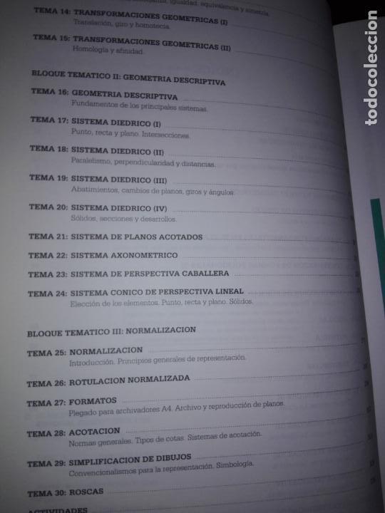 Libros antiguos: libro-dibujo técnico.editorial donostiarra-f.javier rodriguez de abajo-1995-buen estado-ver fotos - Foto 7 - 142470046