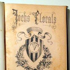 Libros antiguos: (JOAQUIM RIERA, LLUÍS NADAL) JOCHS FLORALS DE BARCELONA EN 1888 - 2 - BARCELONA 1888. Lote 142633686