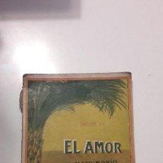 Libros antiguos: EL AMOR, SEGUN EL KORAN BACHIR ALI. Lote 142688586