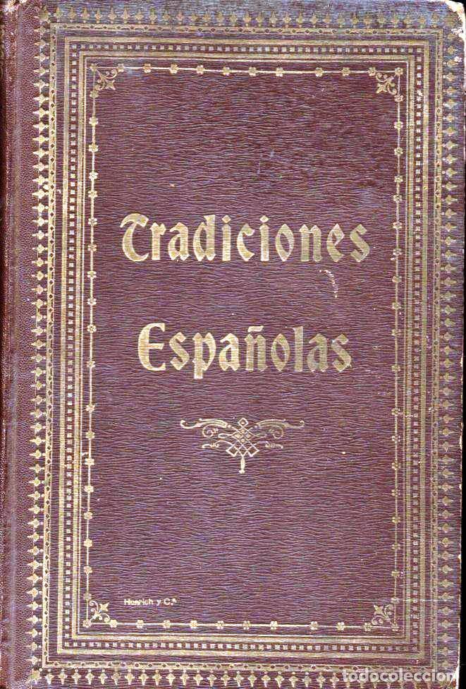 UMBERT : TRADICIONES ESPAÑOLAS (HENRICH, 1913) (Libros Antiguos, Raros y Curiosos - Literatura Infantil y Juvenil - Otros)