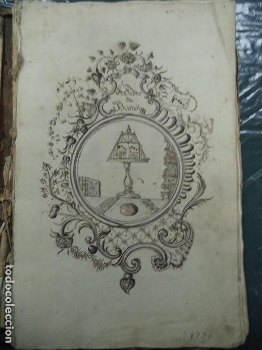 Libros antiguos: Curioso Cantoral Português Séc XVIII - Foto 3 - 142726294