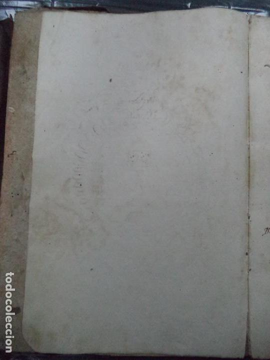 Libros antiguos: Curioso Cantoral Português Séc XVIII - Foto 8 - 142726294