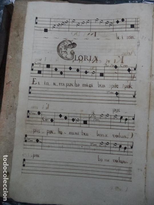 Libros antiguos: Curioso Cantoral Português Séc XVIII - Foto 10 - 142726294