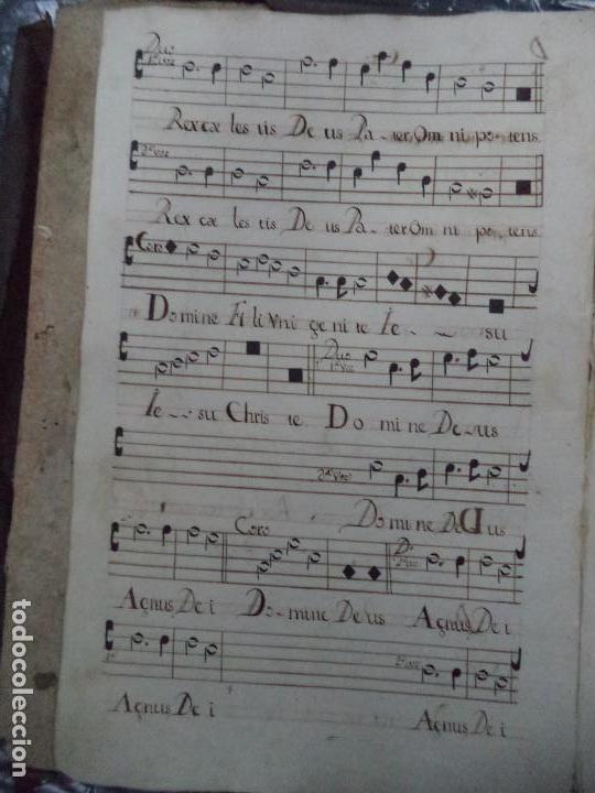 Libros antiguos: Curioso Cantoral Português Séc XVIII - Foto 14 - 142726294