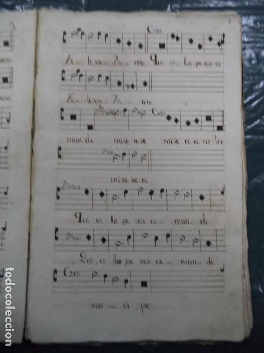 Libros antiguos: Curioso Cantoral Português Séc XVIII - Foto 15 - 142726294