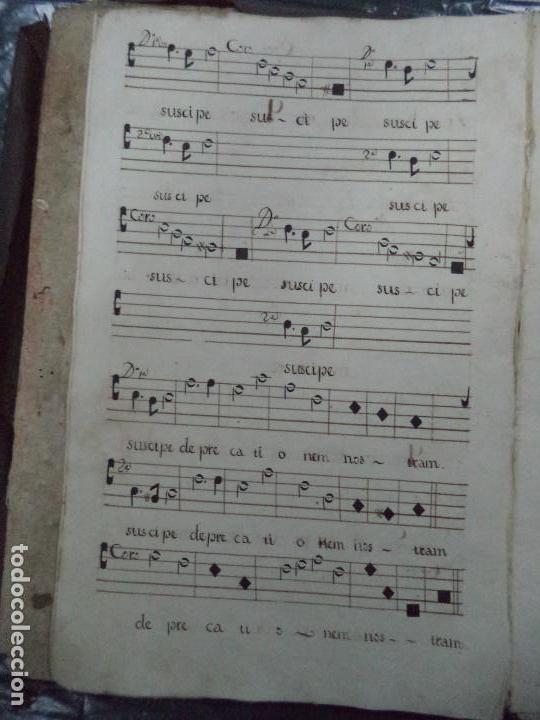 Libros antiguos: Curioso Cantoral Português Séc XVIII - Foto 16 - 142726294