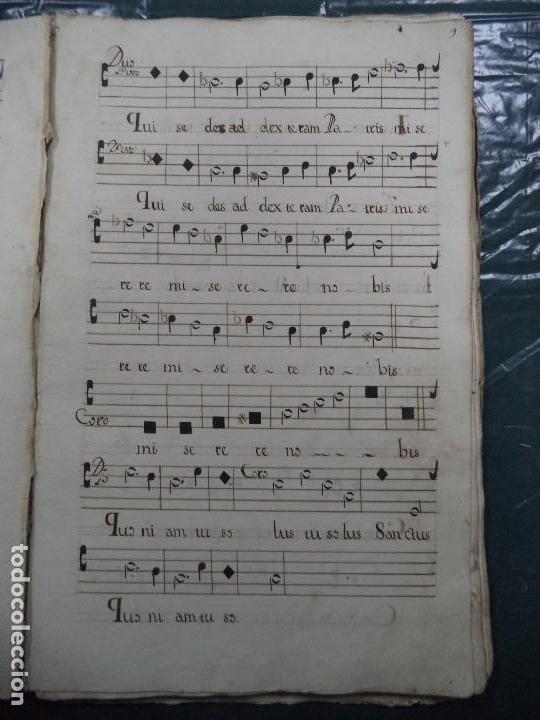 Libros antiguos: Curioso Cantoral Português Séc XVIII - Foto 17 - 142726294