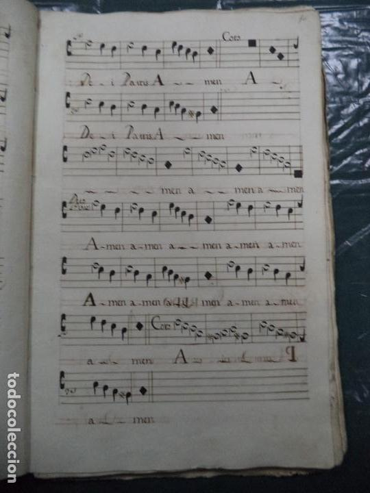 Libros antiguos: Curioso Cantoral Português Séc XVIII - Foto 19 - 142726294