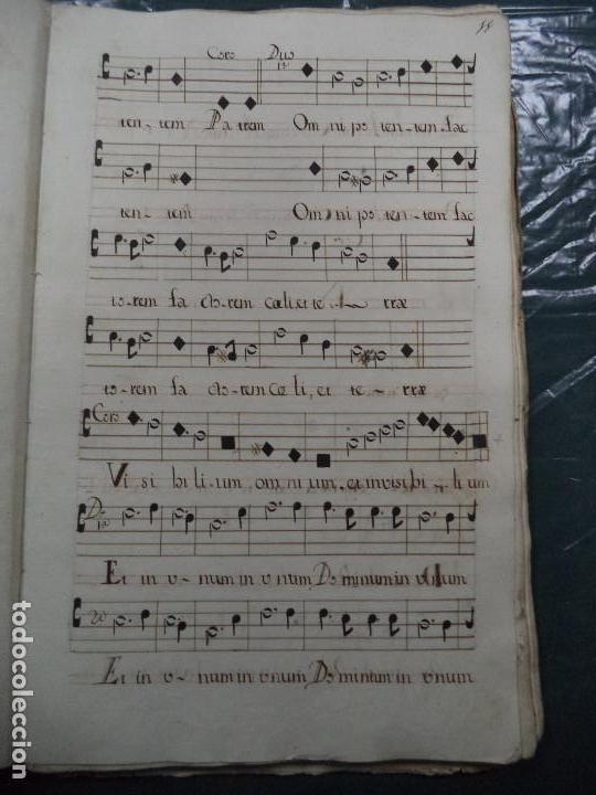 Libros antiguos: Curioso Cantoral Português Séc XVIII - Foto 21 - 142726294