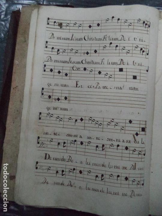 Libros antiguos: Curioso Cantoral Português Séc XVIII - Foto 22 - 142726294
