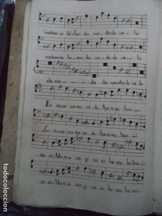 Libros antiguos: Curioso Cantoral Português Séc XVIII - Foto 24 - 142726294