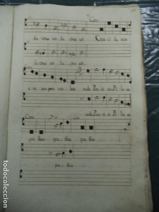 Libros antiguos: Curioso Cantoral Português Séc XVIII - Foto 25 - 142726294