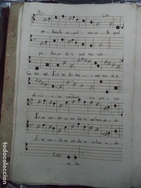 Libros antiguos: Curioso Cantoral Português Séc XVIII - Foto 26 - 142726294