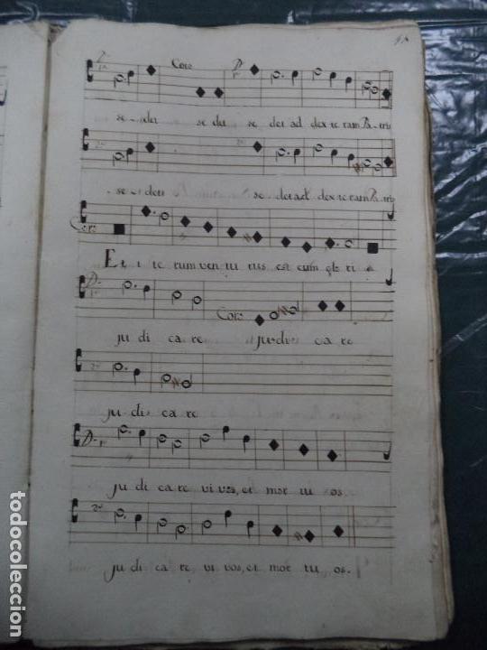 Libros antiguos: Curioso Cantoral Português Séc XVIII - Foto 27 - 142726294