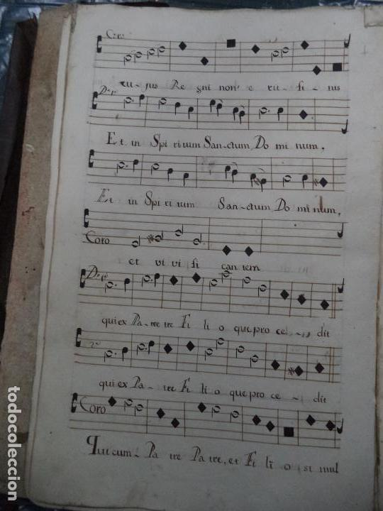 Libros antiguos: Curioso Cantoral Português Séc XVIII - Foto 28 - 142726294