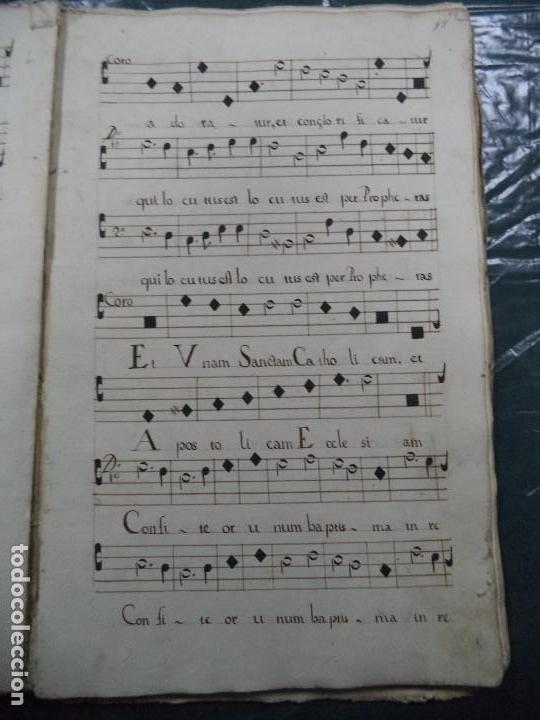 Libros antiguos: Curioso Cantoral Português Séc XVIII - Foto 29 - 142726294