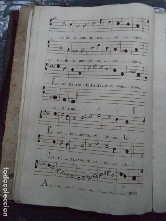 Libros antiguos: Curioso Cantoral Português Séc XVIII - Foto 30 - 142726294