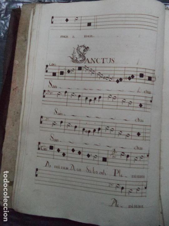 Libros antiguos: Curioso Cantoral Português Séc XVIII - Foto 32 - 142726294