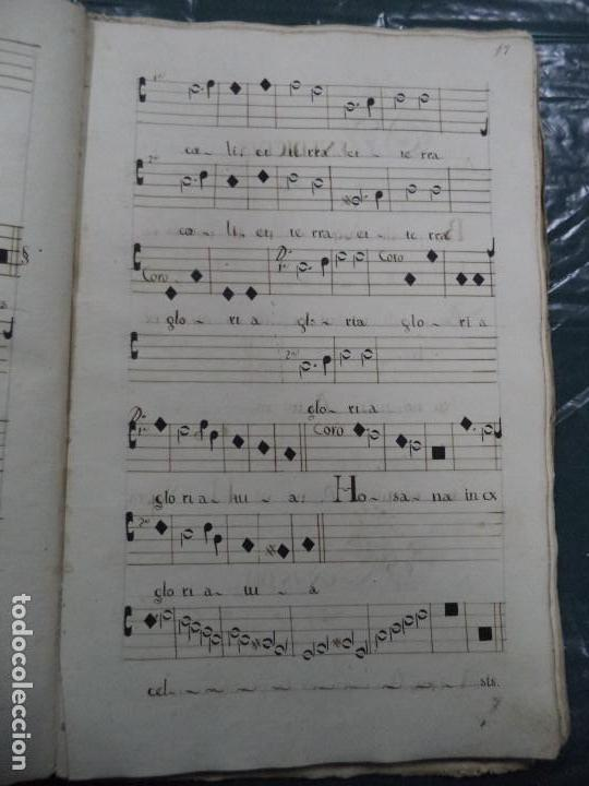 Libros antiguos: Curioso Cantoral Português Séc XVIII - Foto 33 - 142726294