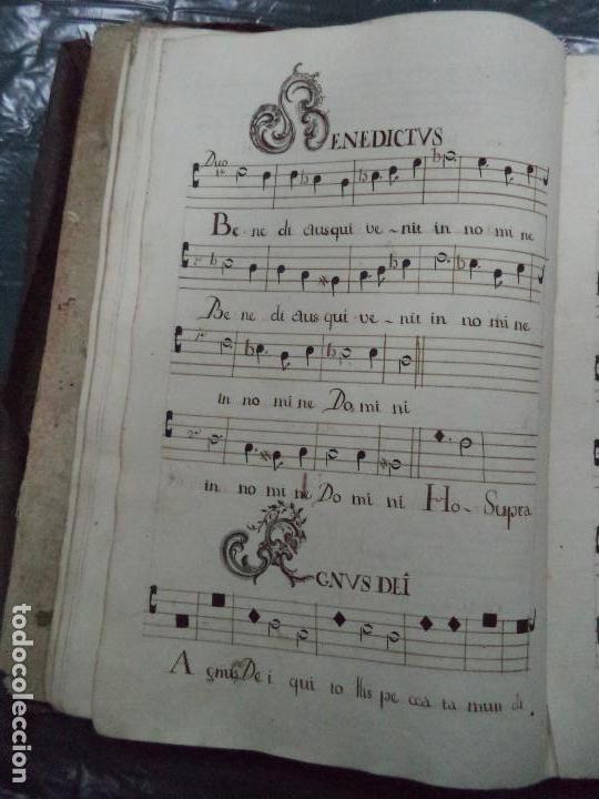 Libros antiguos: Curioso Cantoral Português Séc XVIII - Foto 34 - 142726294