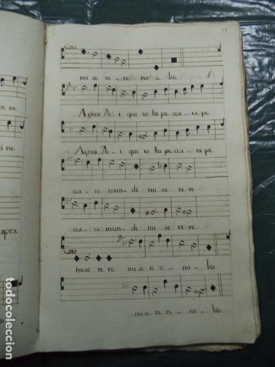 Libros antiguos: Curioso Cantoral Português Séc XVIII - Foto 35 - 142726294