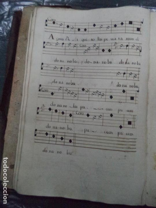 Libros antiguos: Curioso Cantoral Português Séc XVIII - Foto 36 - 142726294