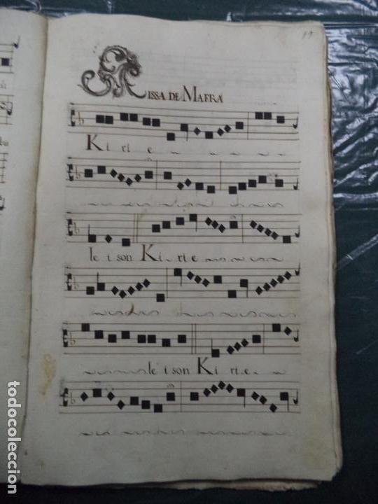 Libros antiguos: Curioso Cantoral Português Séc XVIII - Foto 37 - 142726294