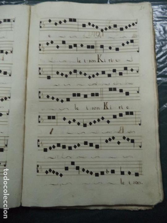 Libros antiguos: Curioso Cantoral Português Séc XVIII - Foto 39 - 142726294
