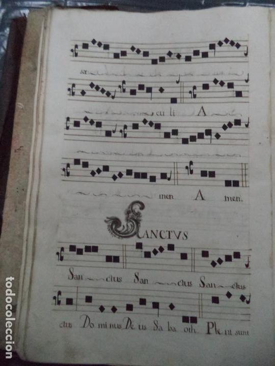 Libros antiguos: Curioso Cantoral Português Séc XVIII - Foto 50 - 142726294