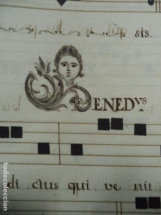 Libros antiguos: Curioso Cantoral Português Séc XVIII - Foto 52 - 142726294
