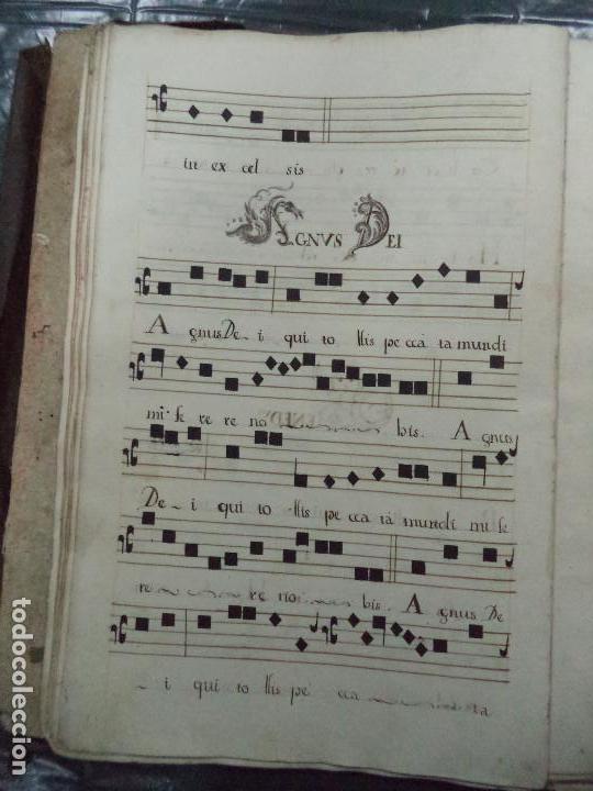 Libros antiguos: Curioso Cantoral Português Séc XVIII - Foto 53 - 142726294