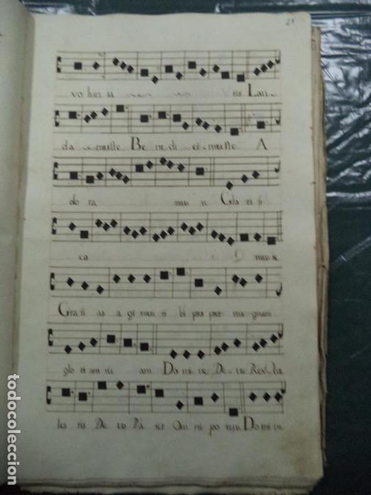 Libros antiguos: Curioso Cantoral Português Séc XVIII - Foto 56 - 142726294