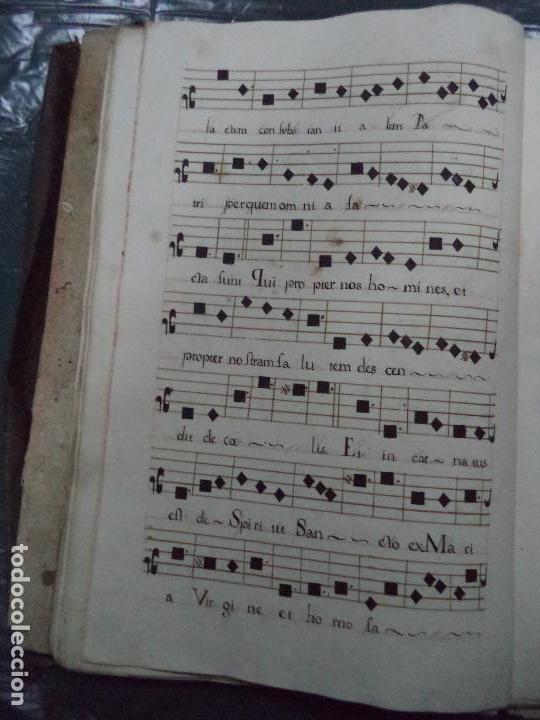 Libros antiguos: Curioso Cantoral Português Séc XVIII - Foto 61 - 142726294