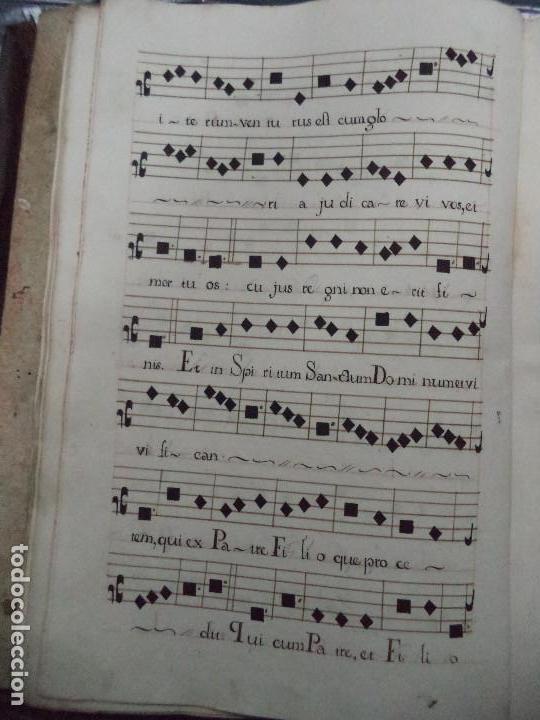 Libros antiguos: Curioso Cantoral Português Séc XVIII - Foto 63 - 142726294