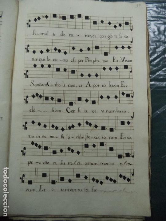 Libros antiguos: Curioso Cantoral Português Séc XVIII - Foto 64 - 142726294