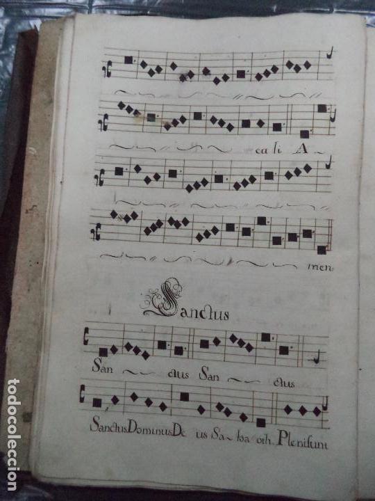 Libros antiguos: Curioso Cantoral Português Séc XVIII - Foto 65 - 142726294