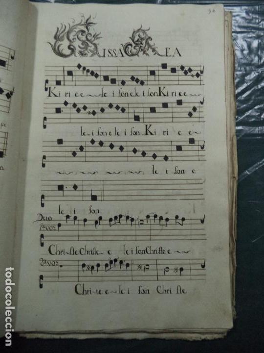 Libros antiguos: Curioso Cantoral Português Séc XVIII - Foto 68 - 142726294