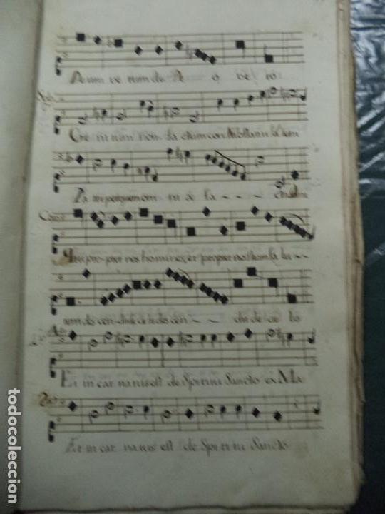 Libros antiguos: Curioso Cantoral Português Séc XVIII - Foto 80 - 142726294