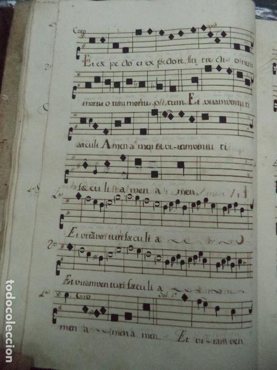 Libros antiguos: Curioso Cantoral Português Séc XVIII - Foto 85 - 142726294