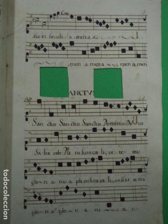 Libros antiguos: Curioso Cantoral Português Séc XVIII - Foto 86 - 142726294