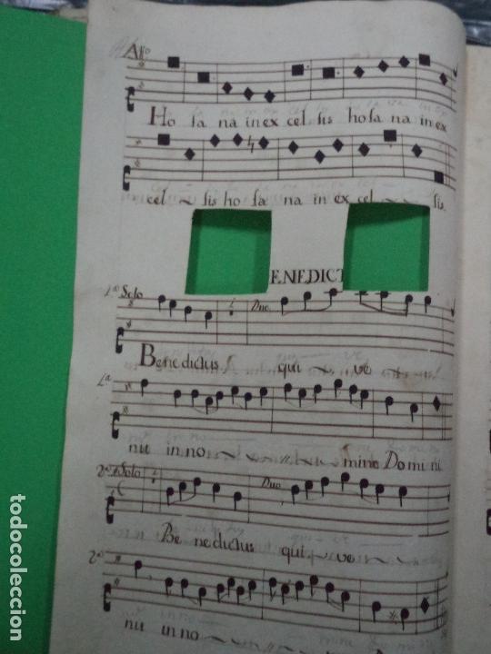 Libros antiguos: Curioso Cantoral Português Séc XVIII - Foto 87 - 142726294
