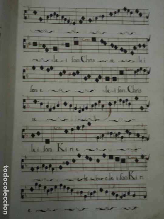 Libros antiguos: Curioso Cantoral Português Séc XVIII - Foto 91 - 142726294