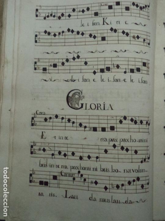 Libros antiguos: Curioso Cantoral Português Séc XVIII - Foto 92 - 142726294