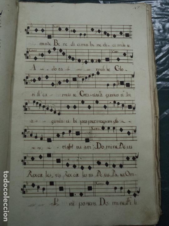 Libros antiguos: Curioso Cantoral Português Séc XVIII - Foto 94 - 142726294
