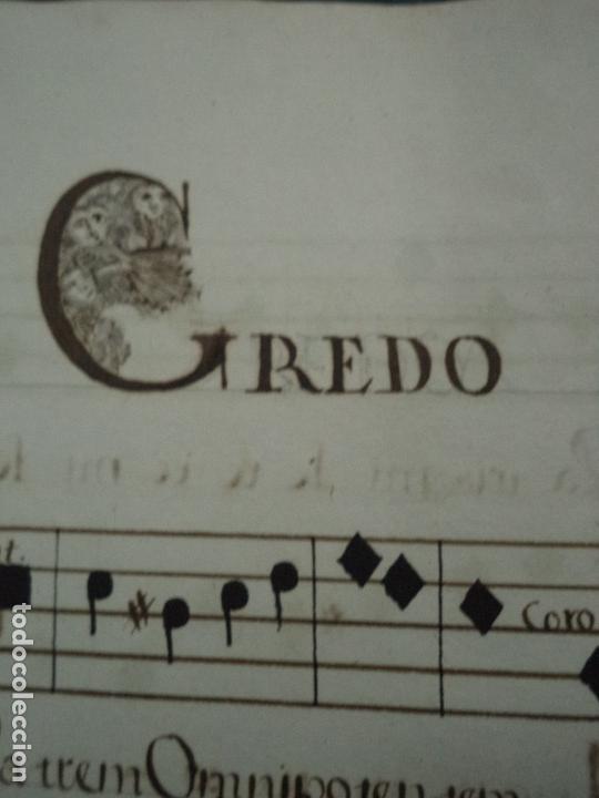 Libros antiguos: Curioso Cantoral Português Séc XVIII - Foto 98 - 142726294