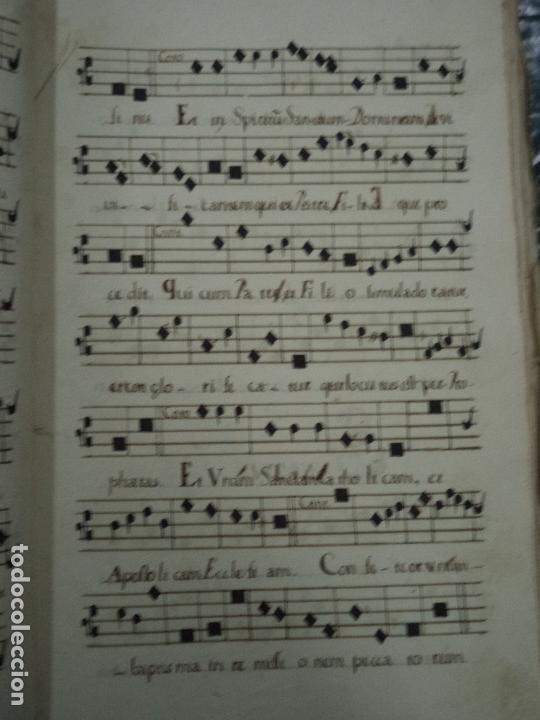 Libros antiguos: Curioso Cantoral Português Séc XVIII - Foto 101 - 142726294